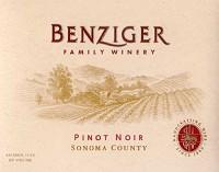 Benziger Family Pinot Noir Russian River Valley 2010 750ml...